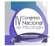 IV Congreso Nacional de Psicología  21 - 24 Julio de 2019 · Álava · España